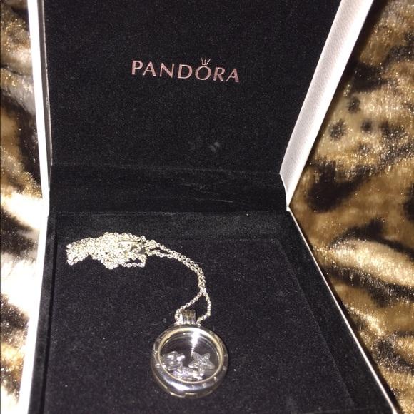 f96d9529c Pandora floating locket pendant and charms. M_5b231b769fe4861543859dd8